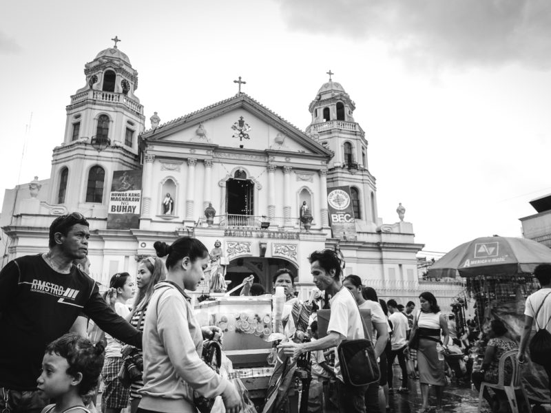 Quiapo church.
