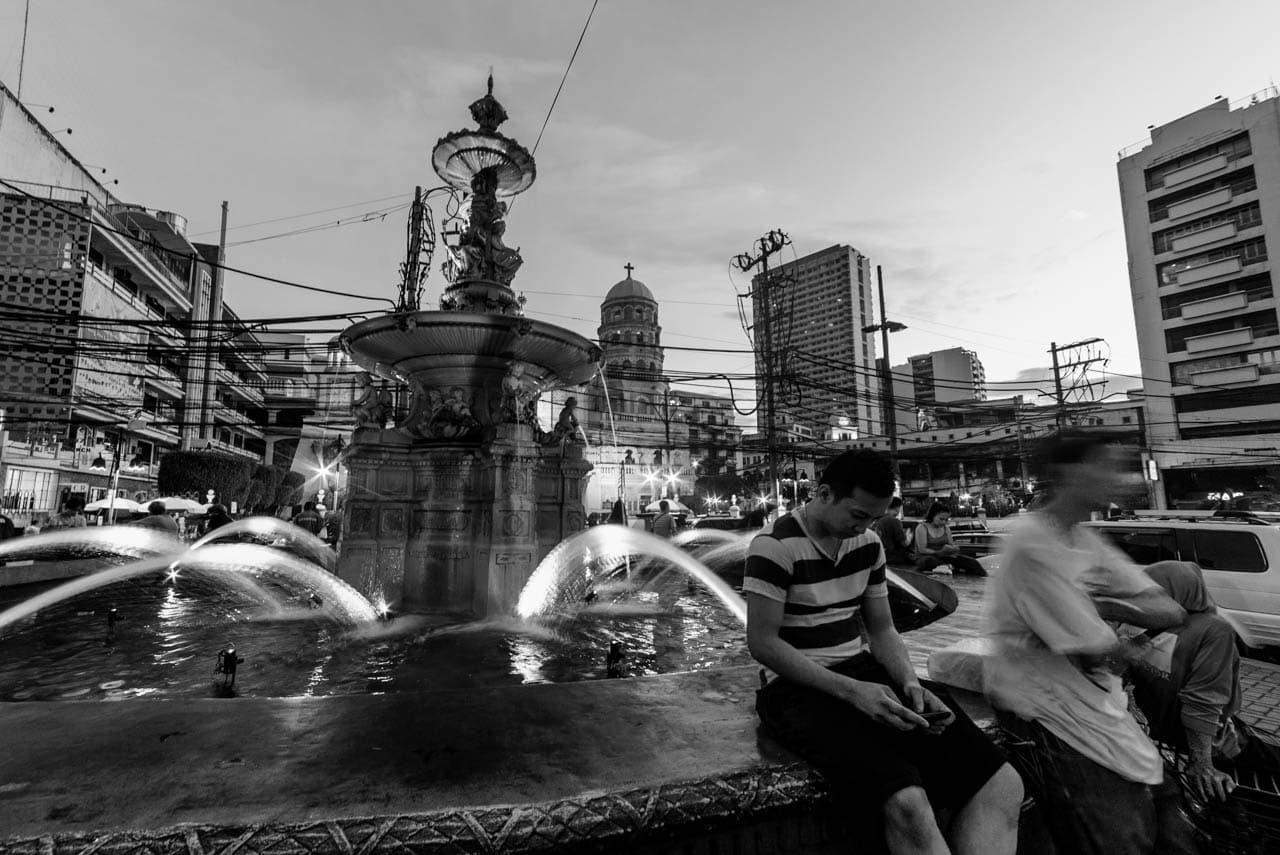 Streets of Manila: Carriedo Fountain